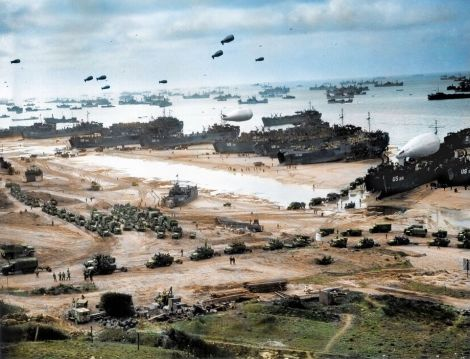Allies on Normandy.