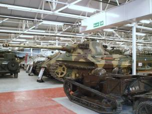 Tiger 2 at The Bovington Tank Museum - England.