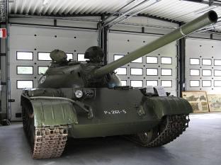 Finnish T-54 at the Parola Tank Museum - Finland.
