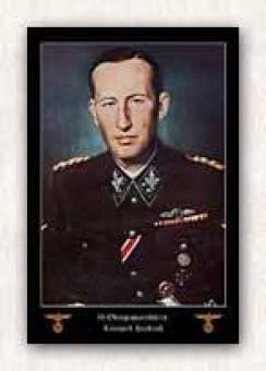 Reinhard Heydrich head of Security Services.