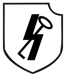 12th SS Panzer Division Hitlerjugend symbol.