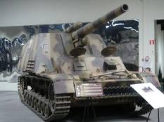 Hummel at the Musée des Blindés - Tank Museum - France.