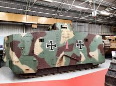 A7V at the Bovington Tank Museum - England.