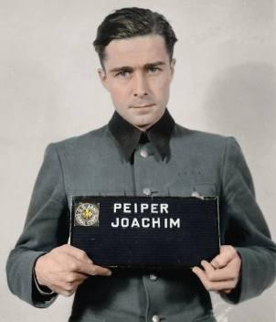 Joachim Peiper after his arrest.