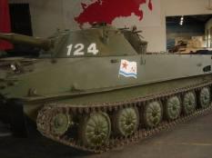 Soviet armor at the Musée des Blindés - Tank Museum - France.