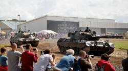 Tankfest 2014 at the The Bovington Tank Museum - England.
