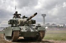 Tankfest 2014 at the The Bovington Tank Museum - England.