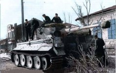 Tiger of the 2nd SS. Division - Das Reich.