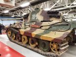 Tiger 2 at The Bovington Tank Museum - England.