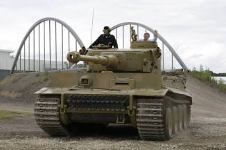 Tiger 1 at the The Bovington Tank Museum - England.