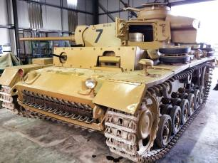 Panzer 3 at the The Bovington Tank Museum - England.