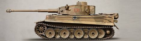 Art of Tiger 131 - Bovington Tiger