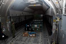 Whether the Tiger combat helicopter, NH90 transport helicopters, armored transport vehicle boxers or even up to 116 soldiers - the cargo compartment of the A400M has ample space.