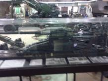 Railway Gun Model - Ditsong National Museum of Military History- Johannesburg, South Africa