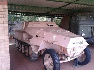 Afrika Korps Sd.Kfz. 251 - Ditsong National Museum of Military History- Johannesburg, South Africa