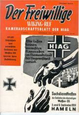 Periodical Der Freiwillige (The Volunteer) of the HIAG.