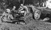 7.5 cm Pak 40 waiting for the next target.
