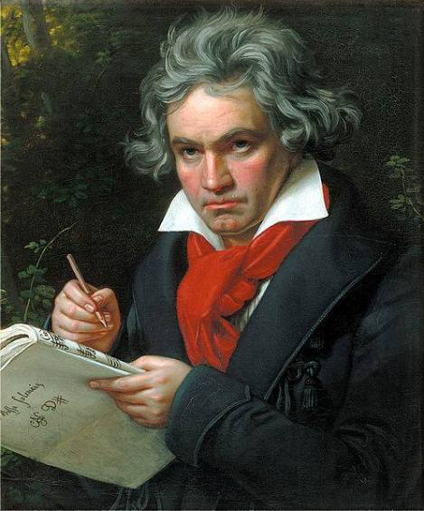 Ludwig van Beethoven (1770–1827), composer.
