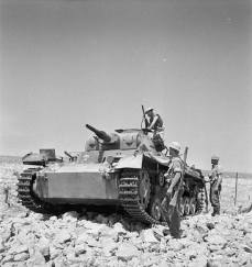 Ausf.G, captured by the British in North Africa (1941).