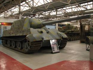 Jagdtiger- Heavy Tank Destroyer, Bovington Tank Museum, UK ,2008.