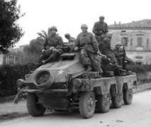 Sd.Kfz. 231 8-Rad in Italy in 1943.