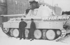 White washed winter camo Panther 143.