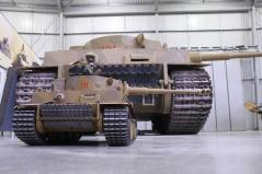 Bovington Tiger 131 and a model.