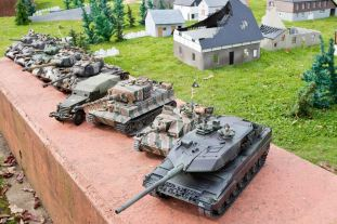 Models and Toys at the Tank Museum.