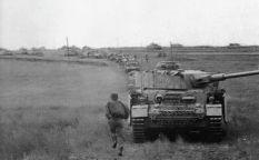 Panzer IV column.