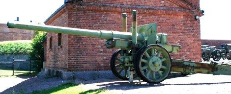 Soviet 122 mm howitzer model 122 K 31.
