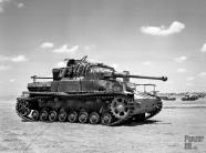 Panzer IV in North Afrika.