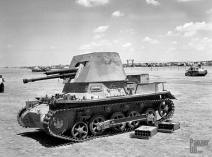 Captured Panzerjäger I in North Afrika.