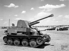 Captured Marder III in North Afrika.