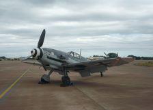 A restored Bf 109 G-4.