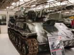 Soviet SU-76M Self-propelled gun at the The Bovington Tank Museum - England.