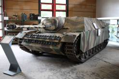 Jagdpanzer IV at the Deutsches Panzermuseum.