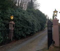 Entrance Villa Speer, Heidelberg, in December 2011.