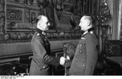 Gerd von Rundstedt and Witzleben in France, March 1941.