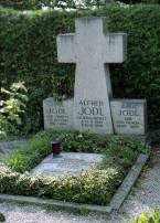 Cenotaph in the family grave of Alfred Jodl in the Fraueninsel Cemetery, in Chiemsee.