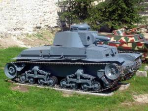 Panzer 35(t) at the Belgrade Military Museum.
