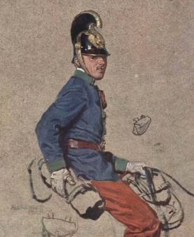 Korporal of Dragoons WWI