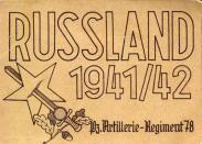 German propaganda poster for the Russian Front. 1941.