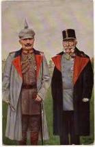 WW1 Austro-Hungarian post cards, Franz Joseph and Kaiser Wilhelm II.