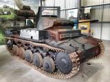 Panzer 2 at the The Bovington Tank Museum - England.