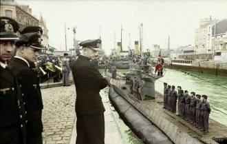 Grand Admiral Karl Dönitz June 1941 at St. Nazianz, France.