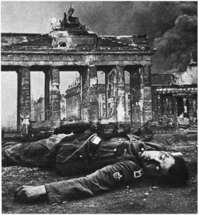 Brandenburg Gate. May 10th, 1945.