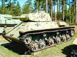 A Soviet T-50, on display at the Parola Tank Museum - Finland.