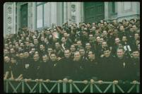 Italian fascists during Adolf Hitler's 1938 state visit.