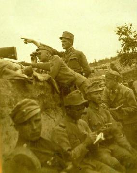 Austro-Hungarian infantry in WWI, Galisia 1915.