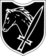Insignia of 8th SS Cavalry Division Florian Geyer.